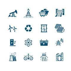 Energy icons || MICRO series