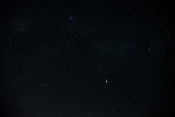 Dark night stars texture background.