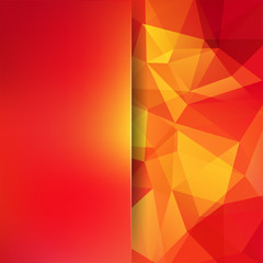 Abstract polygonal vector background. Geometric vector illustration. Creative design template. Abstract vector background for use in design