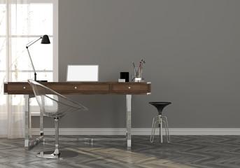 Cabinet in minimalistic style