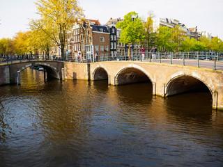 Bridge over Reguliersgracht Keizersgracht, Amsterdam
