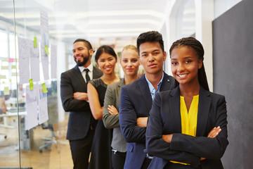 Multikulturelles Start-Up Business Team