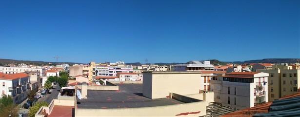 Panorama von Stadt
