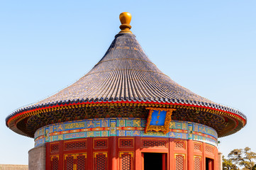 Imperial Vault of Heaven, Temple of Heaven complex, an Imperial Sacrificial Altar in Beijing. UNESCO World Heritage