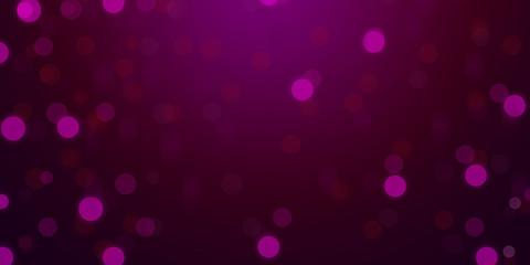 De-focused lights in purple color background wallpaper
