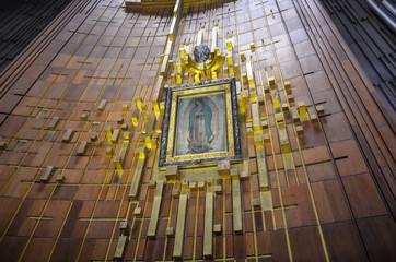 Imagem milagrosa de Nossa Senhora de Guadalupe