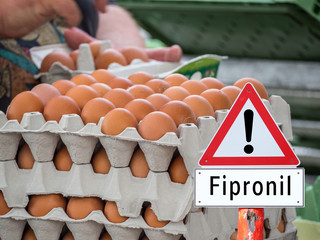 Fipronil Warnschild