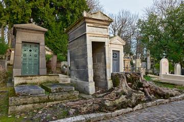 Pere Lachaise cemetery, Paris, France