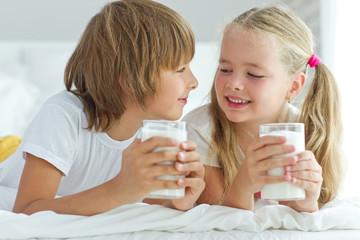 Children drink