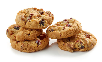 cookies with dried fruit