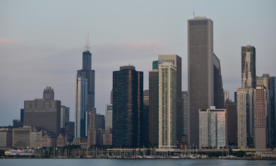 Wall Mural - Chicago Skyline view