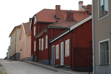 Kleinstadt in Schweden