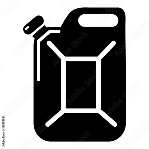 Canister Icon Simple Black Style Stock Image And Royalty Free