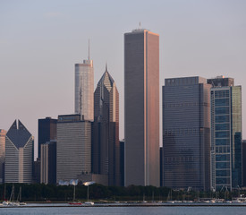 Wall Mural - Chicago skyline