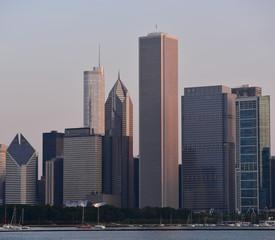 Fotomurales - Chicago skyline