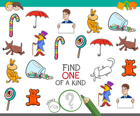 find one picture of a kind game