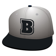 Isolated baseball cap