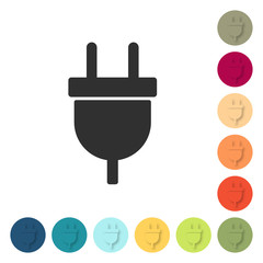 Farbige Buttons - Stecker