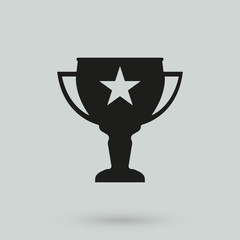 Vector winner cup Icon