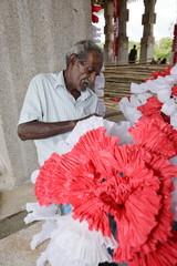 Arbeit und Männer in Sri Lanka