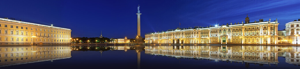 The Hermitage at Palace Square in St. Petersburg