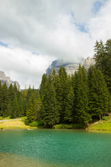 Lake of Carezza, Dolomites, South tirol