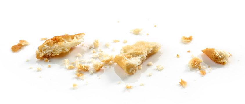 crumbs of cracker