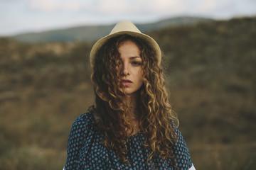 Sensual portrait of a beautiful woman