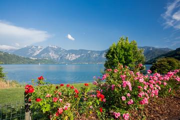 Caldonazzo lake, Italy