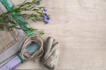 Flax, fiber and fabric