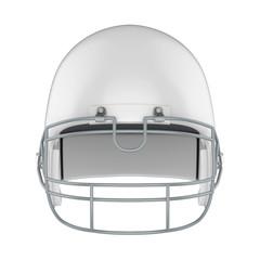 American Football Helmet Isolated