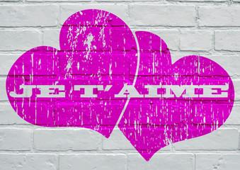 Graffiti, Je t'aime