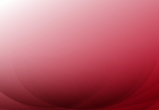Red curve abstract background with copy space. Vector