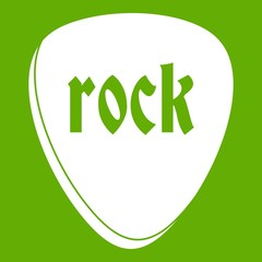 Rock stone icon green