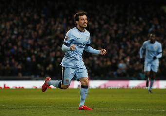 Manchester City v Newcastle United - Barclays Premier League