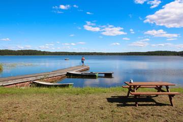 Lac Ungurs en Lettonie