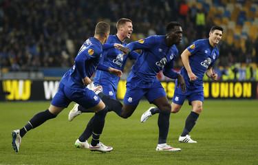 Dynamo Kiev v Everton - UEFA Europa League Third Round Second Leg