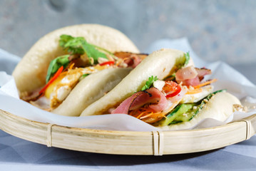 Taiwan's traditional food - Gua Bao