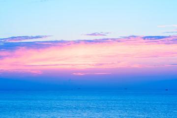芦屋海岸の夕景