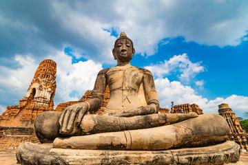 アユタヤ遺跡、ワットマハタート、タイの絶景