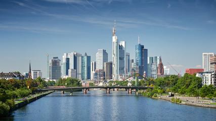 Foto op Plexiglas Centraal Europa Skyline Frankfurt am Main
