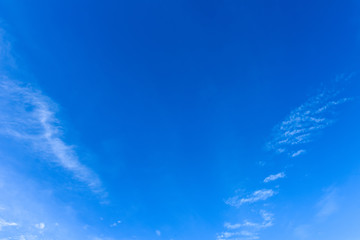 amazing Sky Blue and white background