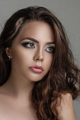 Portrait of beautiful sensual girl