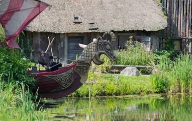 Drakkar de viking Puy du Fou Vendée France