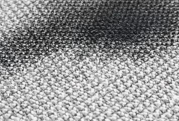 Spot of soil on light carpet