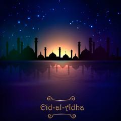 vector holiday illustration Eid Al Adha