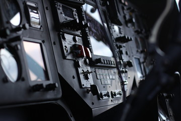 device in the pilot cockpit