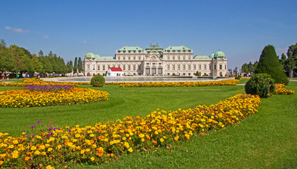 Wien Vienna Oberes Belvedere - Belvedere palace