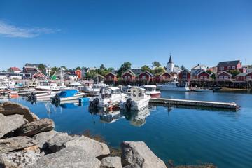 Fotorollo Skandinavien Village de Reine, dans les îles Lofoten, Norvège
