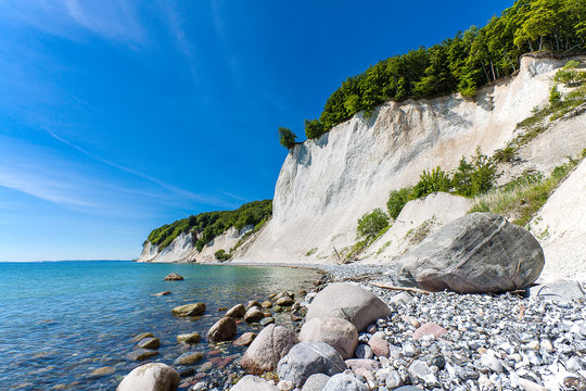 Die Ostseeküste auf der Insel Rügen